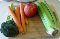 various vegetables that are high in fiber